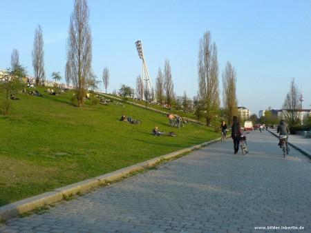 Mauerpark in der Gegenwart