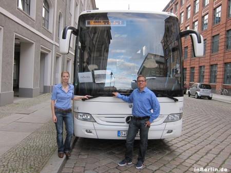 inBerlin - Bustour (Beispiel)