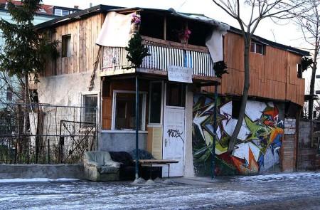Lernerlebnis - Kreuzberg (Baumhaus an der Mauer)