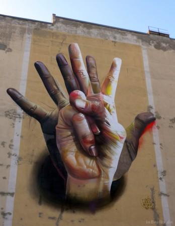 Graffiti in Mitte