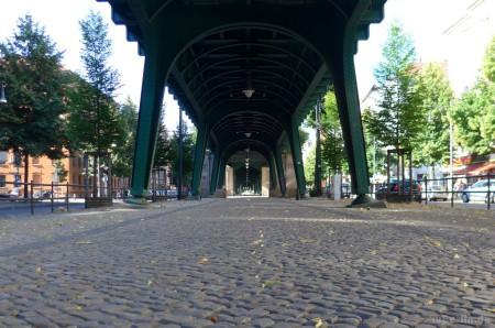Berlin - U2-Viadukt in Prenzlauer Berg