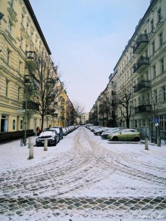 Berlin - Prenzlauer Berg im Winter
