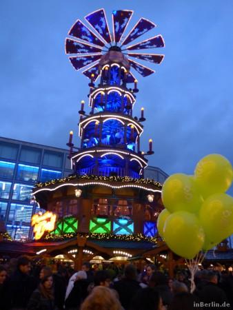 Berliner Weihnachtsmarkt am Alexanderplatz