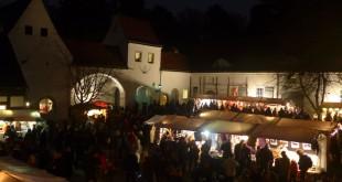 Berliner Weihnachtsmarkt - Jagdschloss Grunewald
