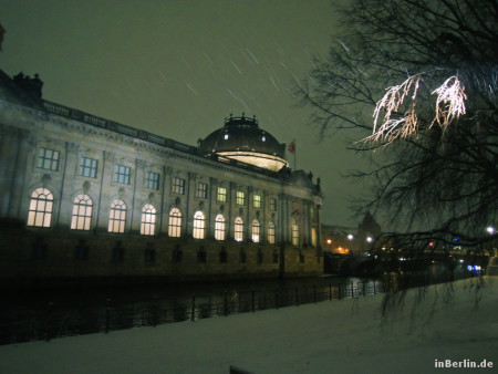 Berliner Winter am Bodemuseum