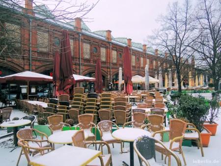 Berliner Winter - Idylle am Hackeschen Markt