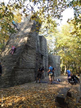 Herbst im Grunewald - Kletterareal